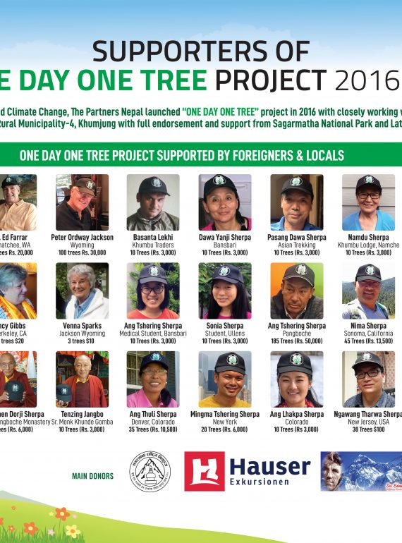 HOW YOU CAN HELP, ONE DAY ONE TREE ??