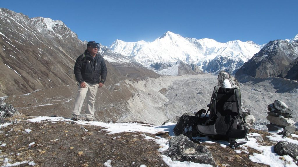 Ang Rita Sherpa is Chair of The Partners Nepal