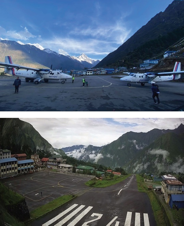 Lukla Airport, which used to see 60 flights a day, was deserted for six months during the lockdown, until it reopened in early October