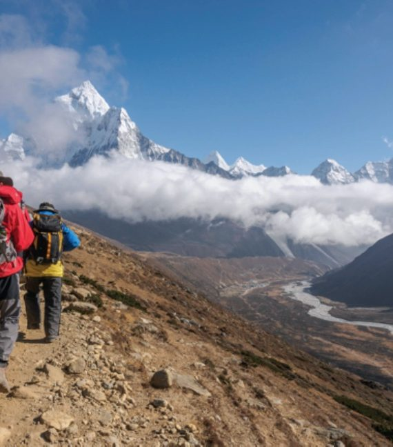 The Everest Trail has been spruced up during the pandemic for a new influx of visitors expected next year