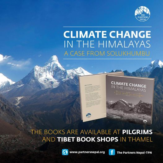 Book Launched : 'CLIMATE CHANGE IN THE HIMALAYAS - A Case from Solukhumbu'
