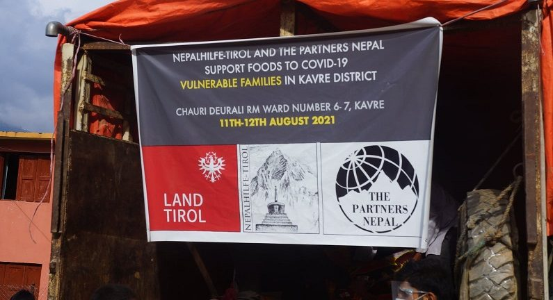 THE PARTNERS NEPAL SUPPORTS COVID-19 VULNERABLE COMMUNITIES OF KAVREPALANCHOWK